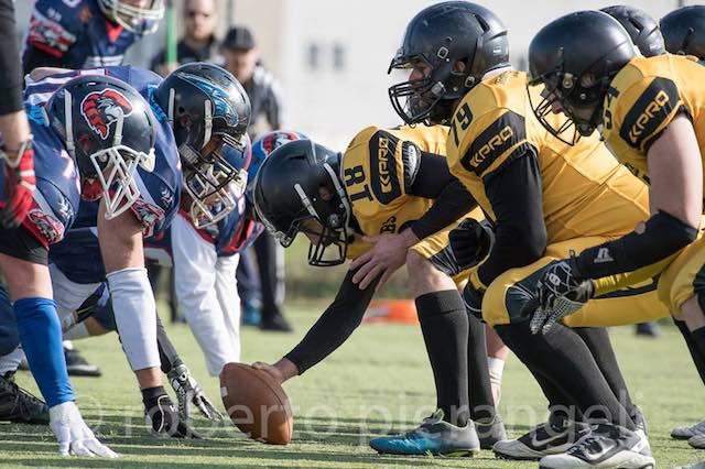 Football US Terni Steelers, al via il girone di ritorno