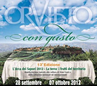 """Dal 28 settembre al 7 ottobre torna """"Orvieto con Gusto"""". La terra e i frutti del territorio"""