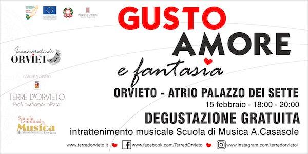 """""""Gusto, amore e...fantasia"""" al Palazzo dei Sette, nel weekend di San Valentino"""