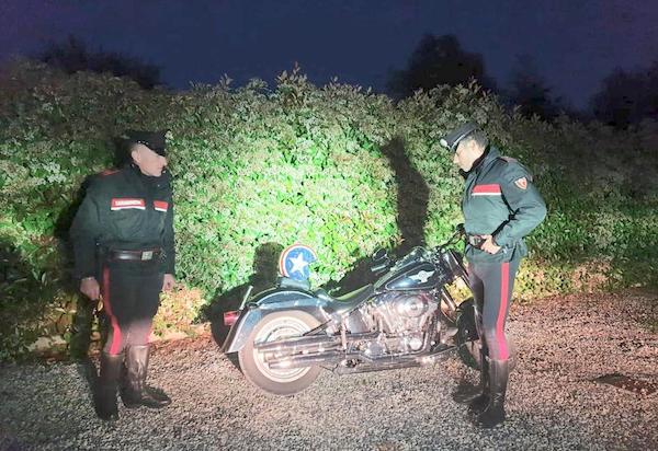 Evade dal Carcere di Orvieto, arrestato a Lucca per una Harley