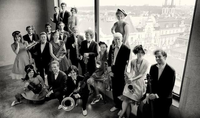 Harm Core Jazz Band porta lo swing al Museo del Vino