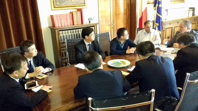 Delegazione cinese in visita alla Provincia. Incontro su istituzioni, trasparenza e controlli