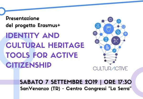 "Si presenta il progetto Erasmus+ ""Identity and cultural heritage tools for active citizenship"""
