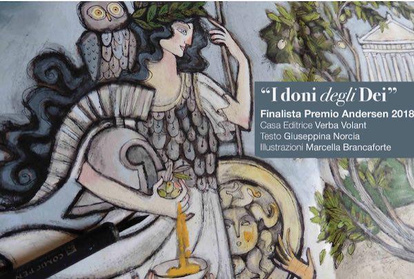 """""""I doni degli Dei"""" in biblioteca, arriva il libro finalista al Premio Andersen"""