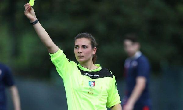 Ennesimo inciampo per l'arbitro Ilaria Possanzini