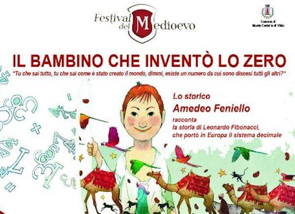 """Amedeo Feniello presenta """"Il bambino che inventò lo zero"""""""
