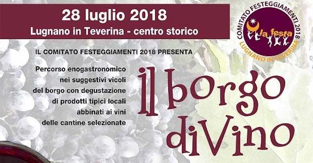 """""""Borgo diVino"""". Cibo, musica e vini di qualità si incontrano in piazza"""