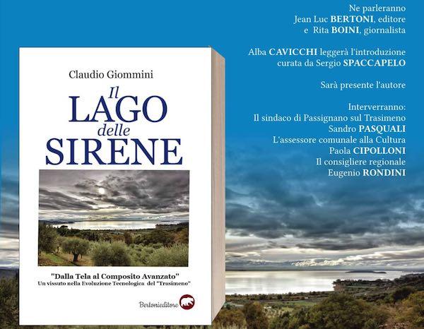 """Claudio Giommini presenta in anteprima il libro """"Il Lago delle Sirene"""""""