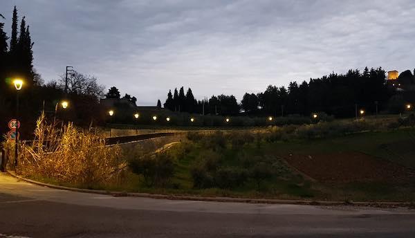 Nuova illuminazione per Via Perugia