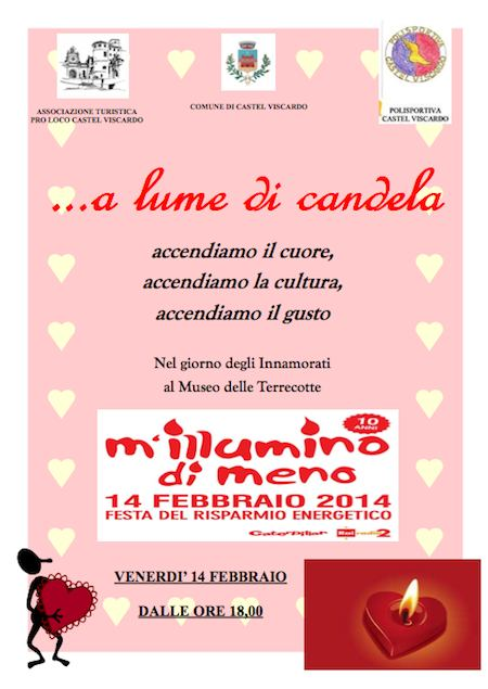 """Decima edizione per """"M'Illumino di meno"""" al Museo delle Terrecotte"""