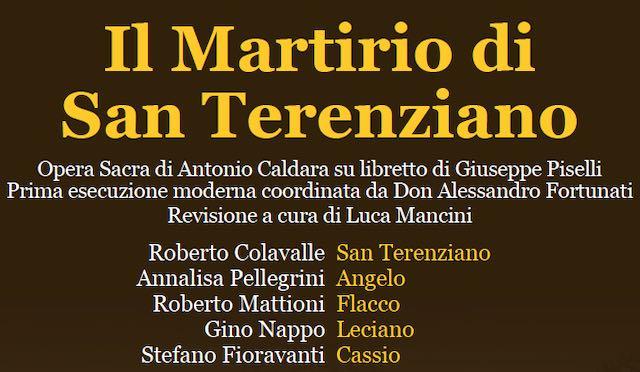 """""""Il Martirio di San Terenziano"""". Opera sacra nella Chiesa della Consolazione"""
