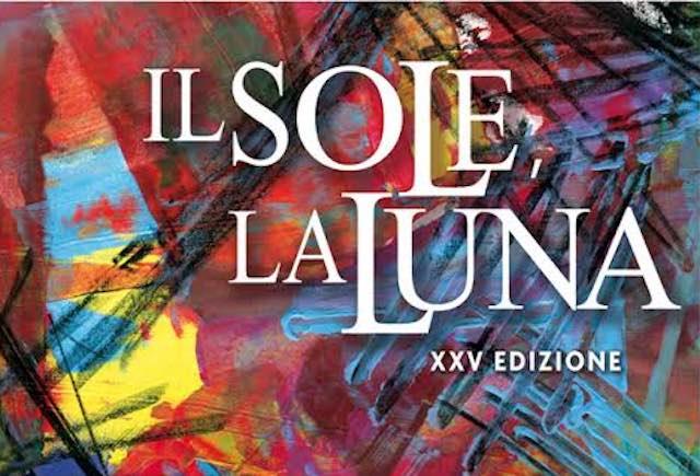 """""""Il Sole, la Luna"""". La 25esima edizione si apre con la pittura di Enzo Orti"""