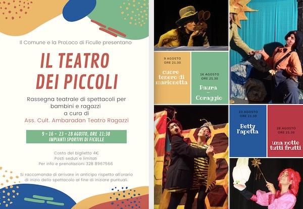 """""""Il Teatro dei Piccoli"""". Quattro spettacoli per una rassegna formato famiglia"""
