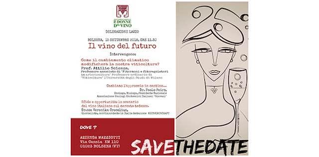 """""""Il vino del futuro"""". Convegno e light lunch all'Azienda Mazziotti"""
