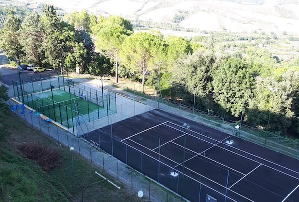 Primo torneo di padel nei nuovi impianti sportivi in località Madonna dell'Acqua