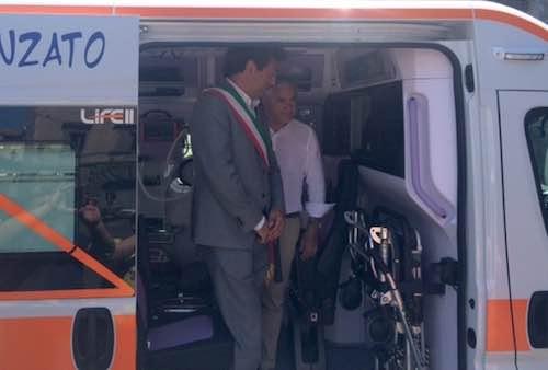 Nuova ambulanza all'avanguardia per il S.Maria della Stella