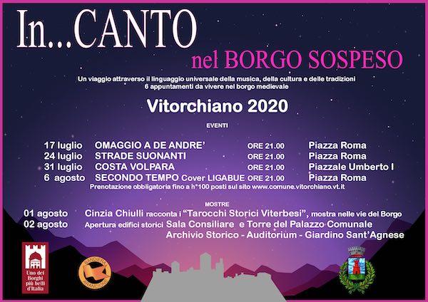 """""""In…Canto nel Borgo Sospeso"""" per un'estate di musica e cultura"""