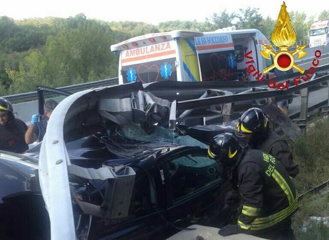 Ancora un incidente sull'A1, muore una donna
