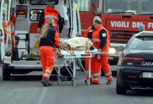 """Incidente stradale in località """"Le Prese"""", 4 feriti"""