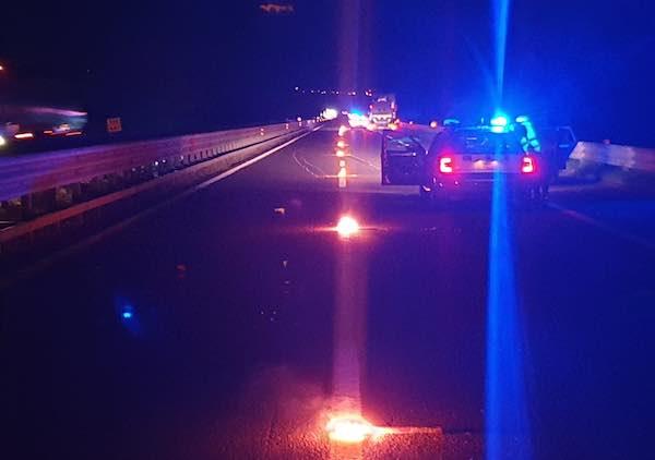 Incidente mortale sull'A1, tra Orvieto e Fabro