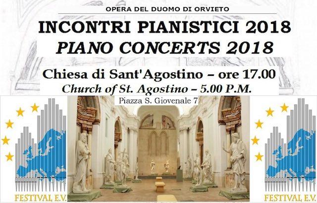 """Musica in Sant'Agostino per gli """"Incontri Pianistici 2018"""""""