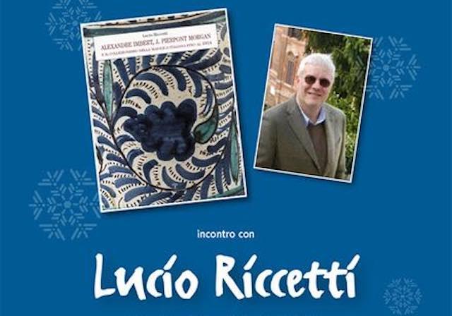 Lucio Riccetti presenta il suo ultimo libro al Museo Internazionale delle Ceramiche di Faenza