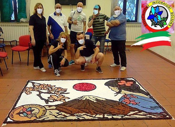 L'Associazione Infioratori partecipa al Progetto Virtual International Ephemeral Art Tokyo 2020