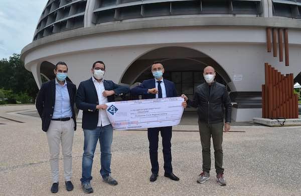 Gli ingegneri donano 8.000 alla Protezione Civile dell'Umbria