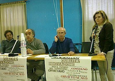 """Il Pd fa il punto su """"Lavoro, qualità, innovazione per il futuro del territorio orvietano"""""""