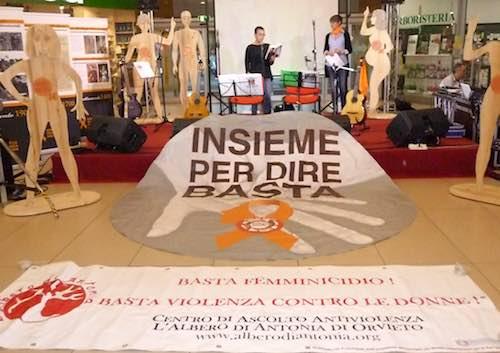 Successo dell'iniziativa della Coop di Orvieto per il Centro Antiviolenza Albero di Antonia