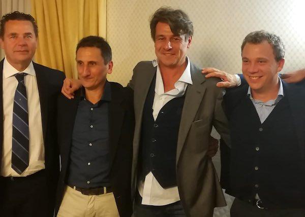 Nicola Berti tiene a battesimo la nascita dell'Inter Club Grotte di Castro