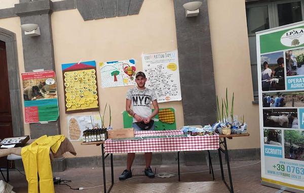 """L'Istituto Agrario """"Bruno Marchino"""" chiude l'anno a """"Orvieto in Fiore"""""""