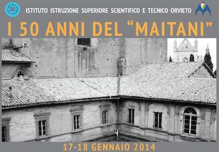 Due giorni di iniziative per celebrare mezzo secolo di attività dell'Istituto Maitani