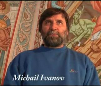 Continua l'opera di Michail Ivanov nella Chiesa di Ospedaletto. Sarà la più affrescata della Diocesi dopo il Duomo di Orvieto. Guarda il filmato