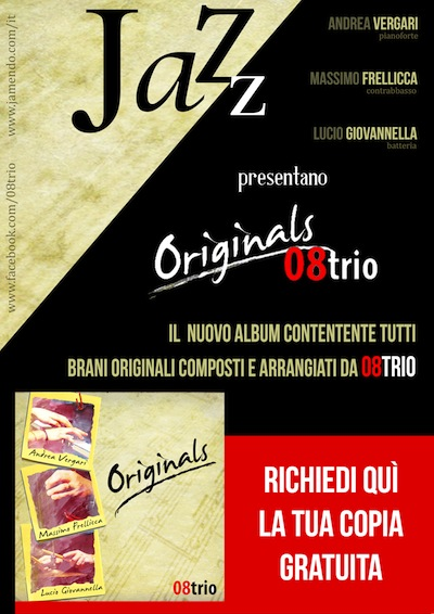 """Continua la promozione del nuovo cd degli 08Trio """"Originals"""" nella città di Orvieto"""