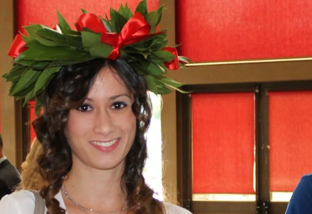 Confetti rossi per Jessica Federico. All'Unitus il primo detective è di Orvieto