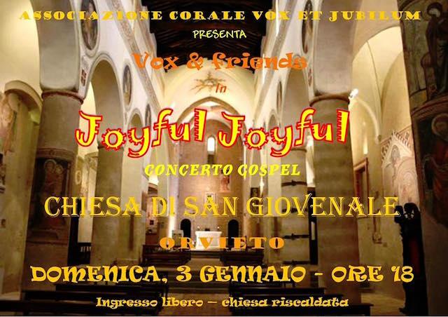 Joyful-Joyful, si replica alla Chiesa di San Giovenale con Vox&Friends