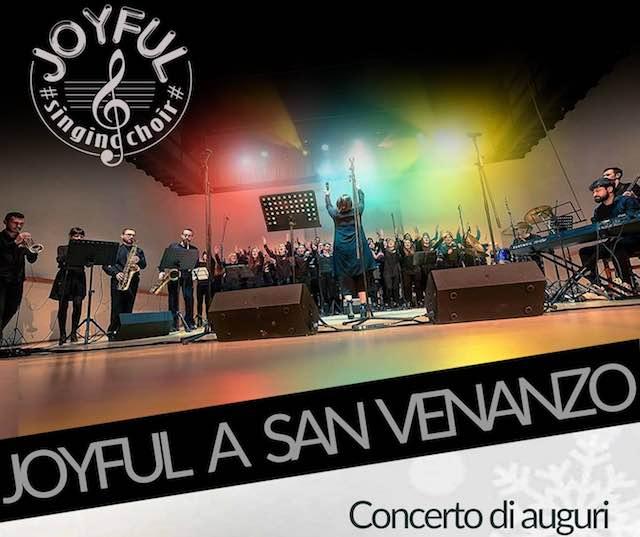 Concerto di Auguri per il Nuovo Anno con il Joyful Singing Choir