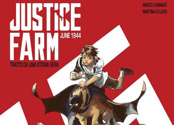 """Scelto il graphic novel """"Justice Farm"""" per partecipare al bando """"Le parole e la città"""""""