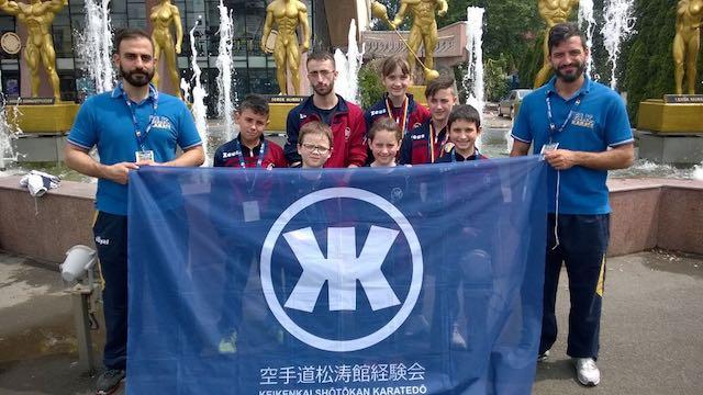 Due ori e tre bronzi per la Scuola Keikenkai al 2° Campionato Europeo di Karate Iku