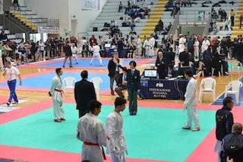 Karate. Tutti i premiati del 7° Campionato Italiano e Coppa Italia.