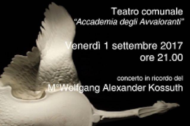 Al Teatro degli Avvaloranti, annuale concerto in ricordo del Maestro Kossuth