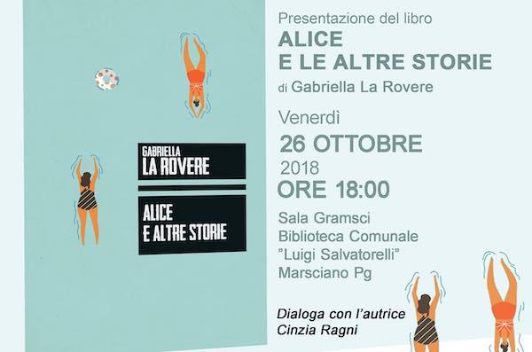 """Gabriella La Rovere presenta il libro """"Alice e altre storie"""""""