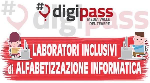 DigiPass, via ai laboratori inclusivi di alfabetizzazione informatica