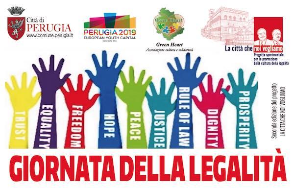 """""""La città che noi vogliamo"""" per la Giornata della Legalità"""