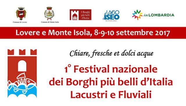 Lugnano partecipa al primo Festival nazionale dei Borghi più belli d'Italia lacustri e fluviali