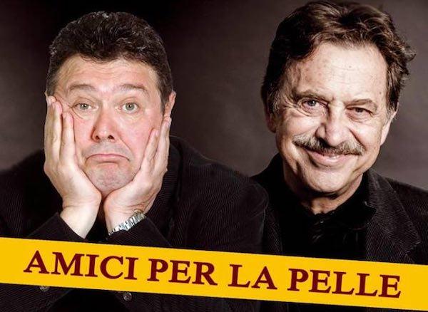 """Massimo Wertmuller e Rodolfo Laganà al Bianconi con """"Amici per la pelle"""""""