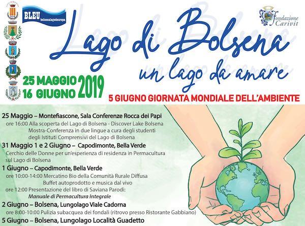 """""""Un Lago da Amare"""", entra nel vivo la terza edizione delle Giornate per l'Ambiente"""
