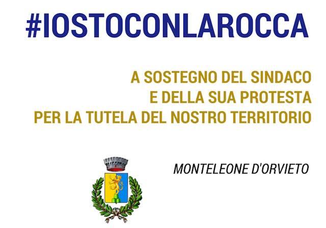 """Il gruppo di maggioranza Progetto per Monteleone d'Orvieto lancia l'hashtag """"io sto con la Rocca"""""""