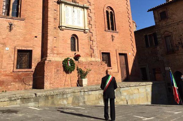 Seppure in forma ridotta, Monteleone d'Orvieto commemora i caduti
